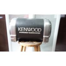 Caixa De Som Amplificada Kenwood Original Nao Foi Montada