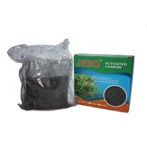 Carvão Ativado Jebo 500g Carvão Ativo - Para Filtros Aquario