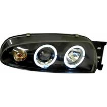 Farol Projector Angel Eyes Ford Fiesta 96/99 - G2 B -r$ Cada