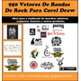 950 Vetores De Bandas De Rock Para Corel Draw