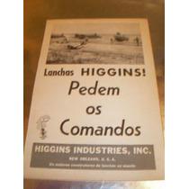 ( L - 290 ) Propaganda Antiga Lanchas Higgins