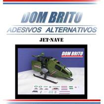 Adesivos Para Jet-nave Comandos Em Ação