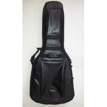 Semi Case (bag) Para Violão Em Couro Ecológico.