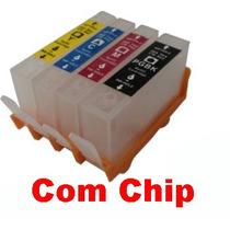 Cartucho Recarregavel Hp 6000 6500 7000 7500 Com Chip