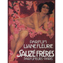 Mulher Perfume Flores Paris Poster Repro