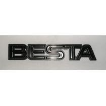 Emblema Cromado Besta - Kia - Mmf Auto Parts