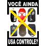 Controle Remoto Portão Copia Código Acione No Farol Do Carro