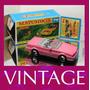 1987 Matchbox Lesney Cadilac Alanté + Custom Box - Cx Ye