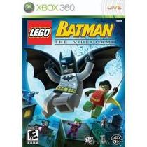 Jogo Lacrado Ntsc Lego Batman The Videogame Para Xbox 360