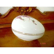 Ovo Em Porcelana Portuguesa Vista Alegre Antigo Belo E Raro
