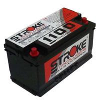 Bateria De Som Stroke Power 1100ah/pico E 125ah/hora. Impact