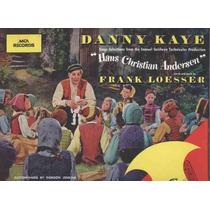 Danny Kaye Lp Importado Trilha Do Filme Hans C.andersen