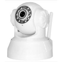Câmera Ip De Segurança Wireless Sem Fio Vigilância Pan Tilt