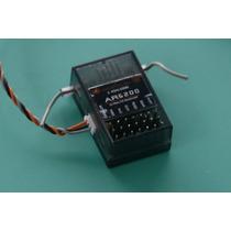 Receptor Ar6200 Spektrum + Satelite + Bind Plug 6ch Dsm2 Rc