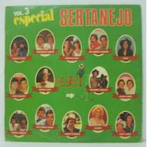 Lp Especial Sertanejo Vol 3 - 1985 - Seta