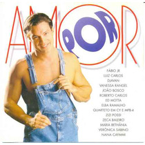 Cd Novela Por Amor Nacional - Tv Globo
