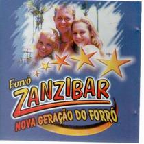 Cd Forró Zanzibar - Nova Geração Do Forró - Novo***