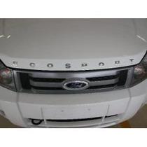 Emblema Letreiro Capô Ecosport Cromado Ford