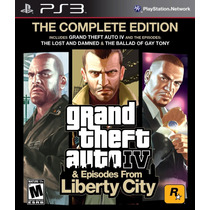 Gta 4 Complete Edition - Grand Theft Auto Iv + Expansões Ps3