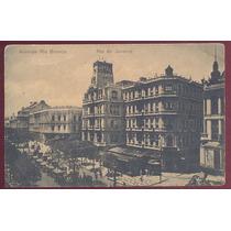 Cartão Postal Avenida Rio Branco Rio De Janeiro