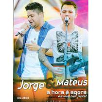 Dvd + Cd Jorge E Mateus - A Hora É Agora Em Jurerê - Novo***