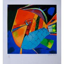 Aldemir Martins - Peixe Tropical Colorido - Linda!!!