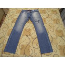 Calça Jeans Casual Colcci Tamanho 48 Azul Otimo Estado