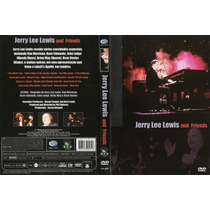 Dvd - Jerry Lee Lewis - And Friends - Frete Gratis