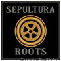 Bordado Termocolante Banda Sepultura Roots Patch Ban120