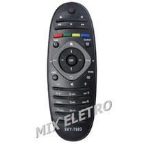 Controle Remoto Para Tv Lcd Led Philips 40pfl3606 40pfl4626