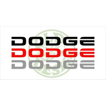 Adesivo Emblema Dodge Para Dakota Sport Rt 5.2 - Old Design