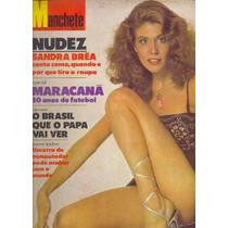 Revista Manchete 1470 Sandra Bréa Mormons Quedas 1980 Fretgr