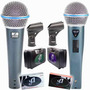 Microfone Arcano Linha Beta G-58a E G-58b Alto Ganho = Shure