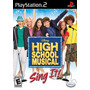 High School Musical Sing It Ps2 Jogo Novo Original Lacrado