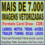 +7000 Imagens Vetor: Carros Motos Trens Aviões Tuning Logos