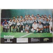 Poster Placar Botafogo Campeão Carioca.