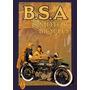 16572- Placa Decorativa Moto Motorcycle Bsa Motocicleta