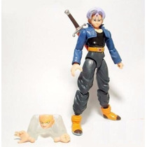 Boneco Dragon Ball Z Trunks Battle Of Z 14 Cm Articulado