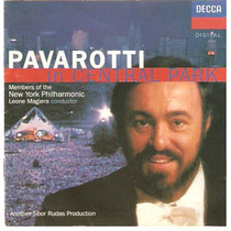 Cd Pavarotti - In Central Park - Novo***