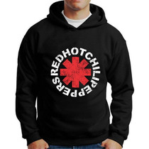 Moletom Red Hot Chili Peppers Blusa Rhcp Moletons De Bandas