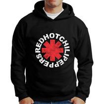 Moletom Red Hot Chili Peppers Blusa Rhcp Moletons De Bandas