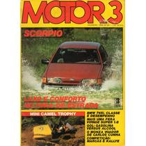 Motor 3 N°68 Ford Scorpio Bmw 745i Vw Voyage Super 1.8 Gol