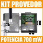 Kit Provedor Elsys + Pig Tail + Caixa + Poe + Omni 12 Dbi
