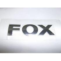 Emblema Adesivo Nome Vw Fox Cromado