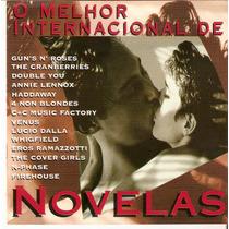 Cd O Melhor Internacional De Novelas- Novo***