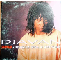 Cd Single Djavan E Stevie Wonder-samurai-capa Papelao-raro