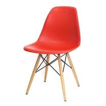 Cadeira Charles Eames Wood - Dkr Base Torre Em Madeira