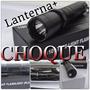 Lanterna Tática + Taser Choque 12.000 Watts Recarregável