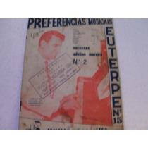 Piano, Partituras Por Euterpe, Músicas De Adelino Moreir