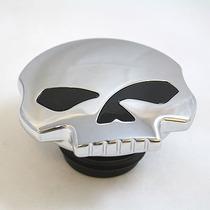 Tampa De Tanque Skull Willie G Harley Davidson